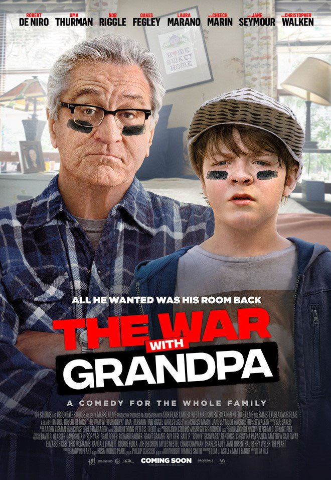 [The War with Grandpa poster]
