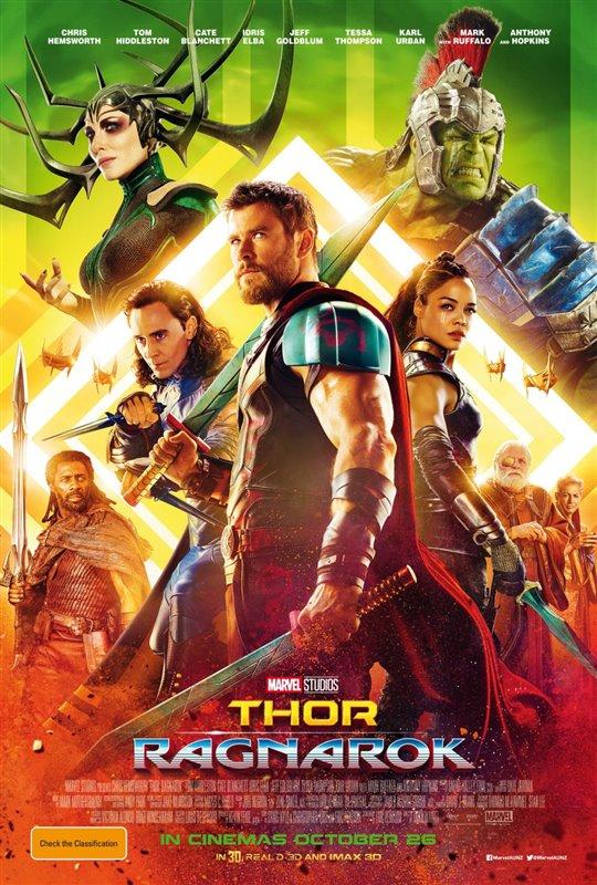 [Thor: Ragnarok poster]