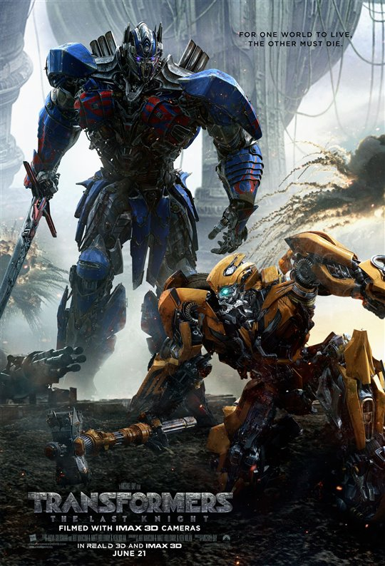 [Transformers: The Last Knight poster]