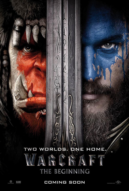 [Warcraft poster]