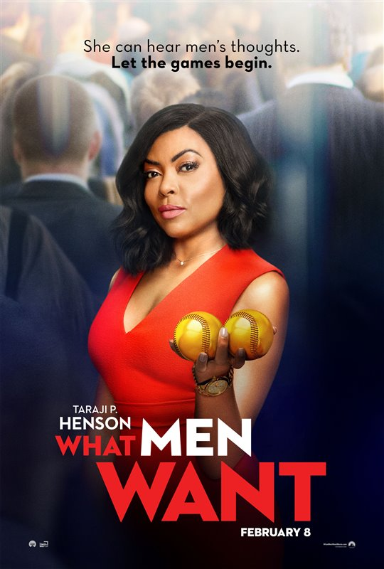 [What Men Want poster]