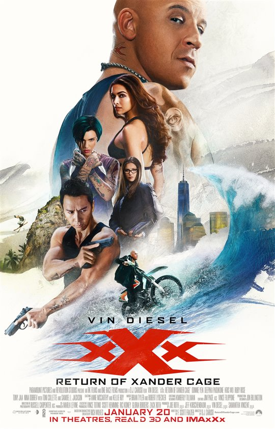 [xXx: Return of Xander Cage poster]